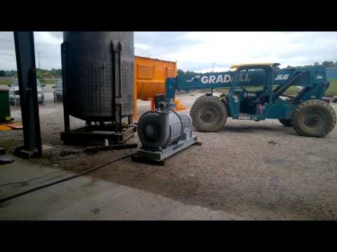 Used 50 HP Hoffman Centrifugal Exhauster Blower model 3830784