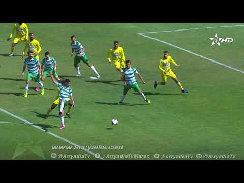 المغرب الفاسي 1-0 النادي القنيطري هدف دجيدجي گيزا |القسم الثاني|