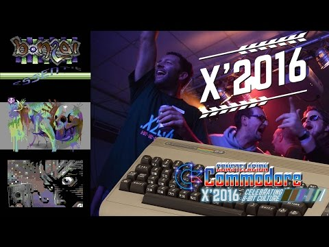 X ' 2016 DemoParty C64 | Demoscene Especial | Demo, Music, Graphics, PETSCII, Games