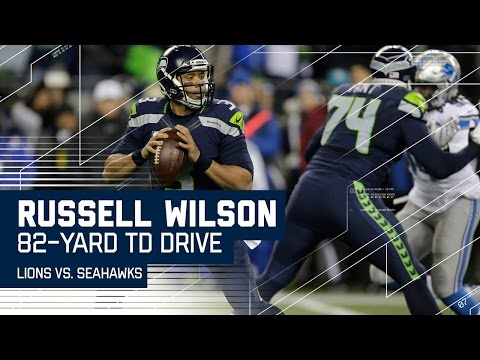 Russell Wilson Leads 82-Yard Drive Capped Off By Rawls TD! | NFL Wild Card Highlights