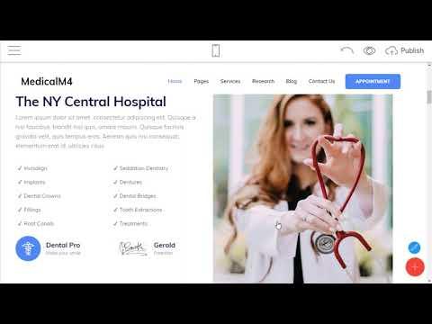 Medicine Website Template   MedicalM4