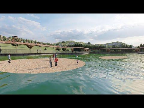 Tortum'da 'Yüzen Adalar' Turizmi