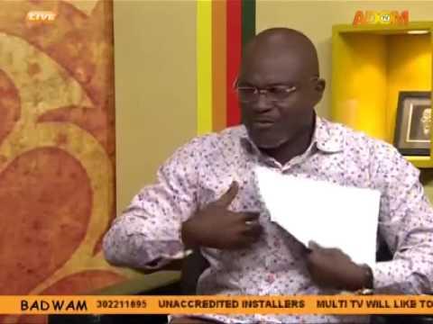 Badwam Mpensenpensenmu on Adom TV (27-9-16)