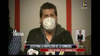 Hernando Siles listo para ser inspeccionado