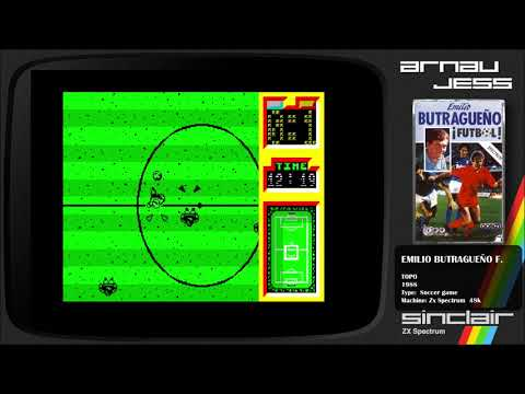 (Hype) Emilio Butragueño Fútbol Zx Spectrum