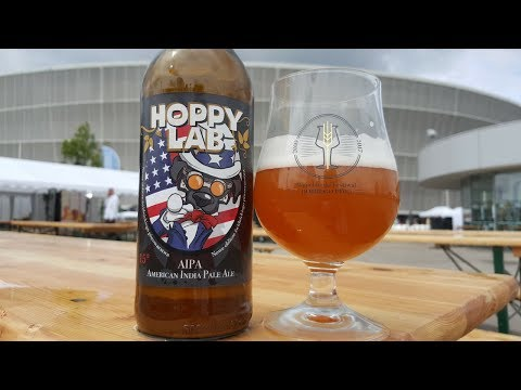Hoppy Lab AIPA American India Pale Ale | Polish Craft Beer Review