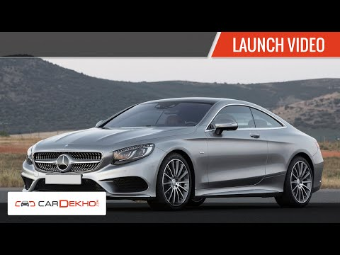 2015 Mercedes S 500 Coupe, S 63 AMG- Launch |CarDekho.com