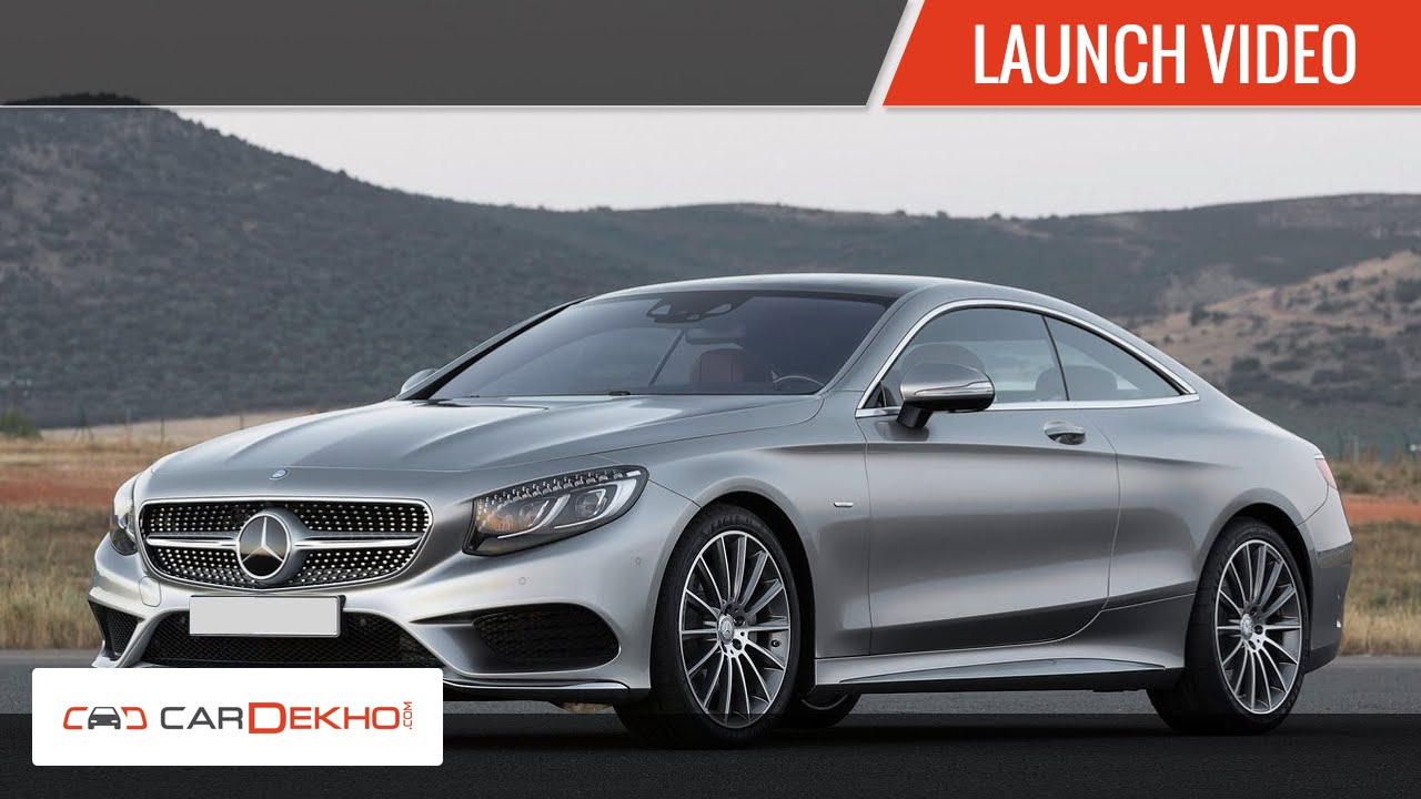 2015 मर्सिडीज एस 500 कूपे, एस 63 amg- launch |cardekho.com