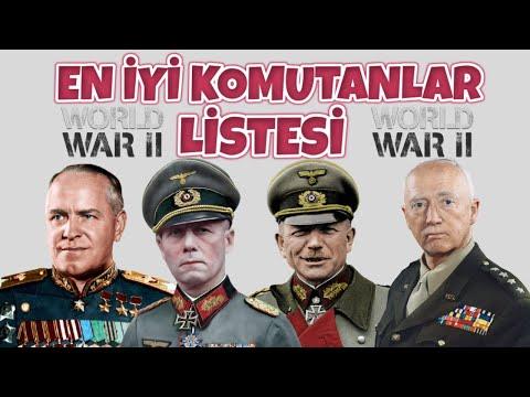 EN İYİ KOMUTANLAR LİSTESİ I TEK PART BELGESEL 2. dünya savaşı tarihi