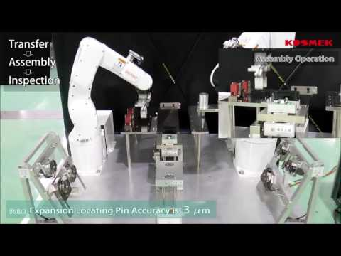 Automation transfer Inspection Assembly with Denso