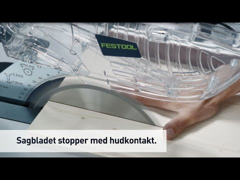 Festool TKS80 bordsag med SawStop teknologi