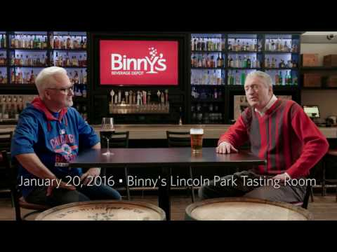 Binny's Tasting Room Conversation with Joe Maddon about the World Series Video