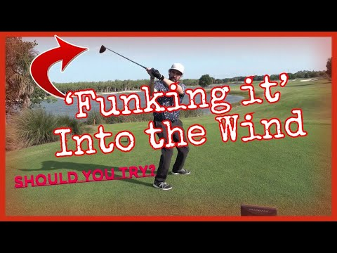 Driver into the Wind (Should you change your Swing)