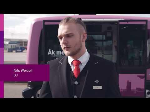 Test av självkörande buss i Helsingborg