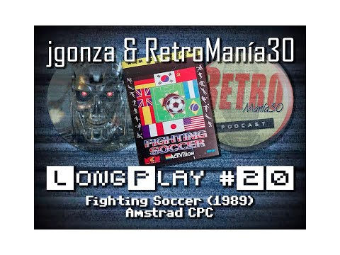 Fighting Soccer - Amstrad CPC Longplay