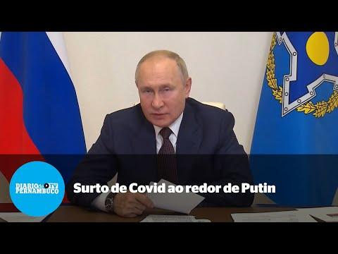 Surto de Covid-19 obriga Presidente da Rússia a ficar em isolamento