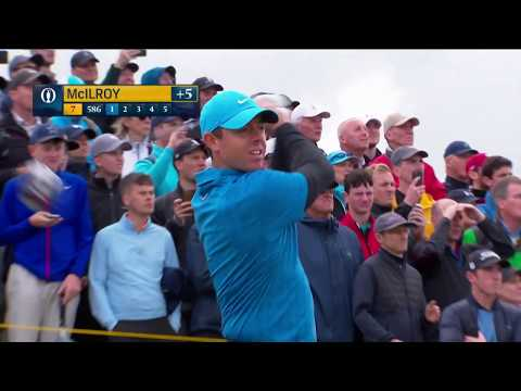 Watch: Rory McIlroy's full first round at The Open