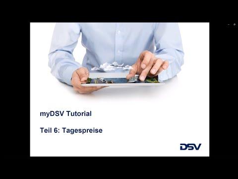 myDSV Tutorial - Teil 6: Tagespreise