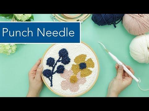 Punch Needle / Rug Hooking – die Technik & Grundlagen