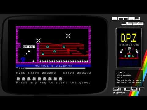 O.P.Z Zx Spectrum by Dave Hughes