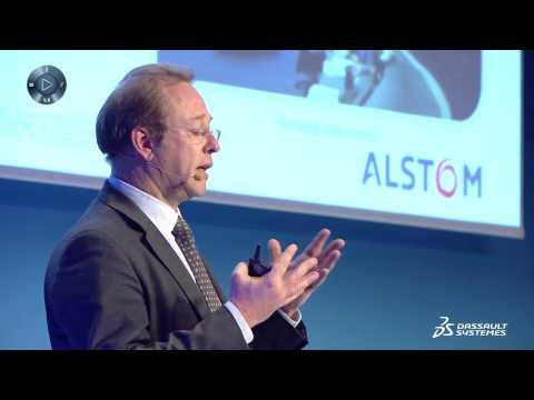 3DExperience Forum France 2015 - témoignage ALSTOM
