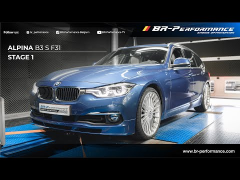 Alpina B3 S F31 / Stage 1 By BR-Performance