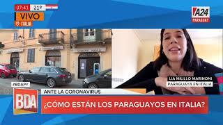 #BDAPy - Lia Mililillo, paraguaya en Italia