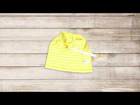 Upcycling Yellow Skirt