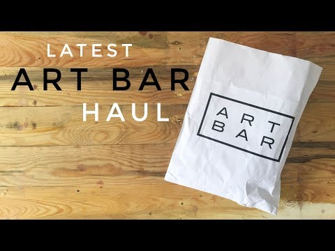 What Could Be Inside???? - Latest Art Bar Haul