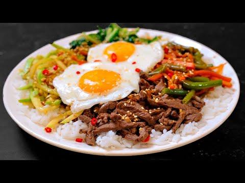 Повторил блюдо из доставка — ПИБИМПАП корейская штука