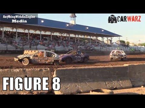 Figure 8 Class 5 Demolition Derby At Unique Motorsports In Ionia Michigan 2018
