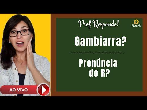 Gambiarra? Pronúncia do R? Prof. Responde - Português para Estrangeiros