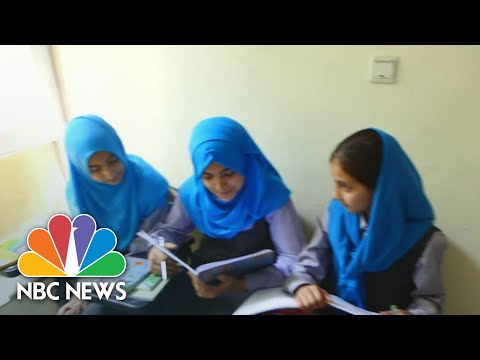 Children Return To Class In Kabul After Deadly Attack On Girls' School | NBC Nightly News