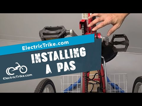 Electric Trike   Installing a PAS on an Electric Traditional Trike