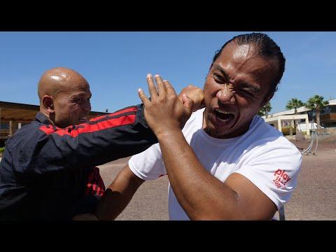 Filipino Martial Art VS Wing Chun Part 1 - Master Wong