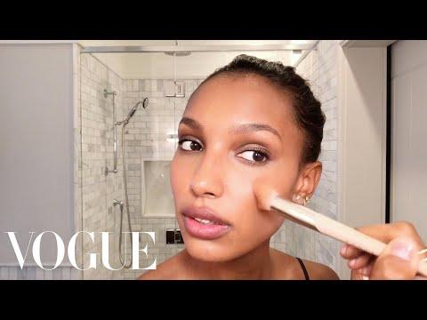 Victoria's Secret Angel Jasmine Tookes Teaches a Master Class in Glowing Skin | Vogue