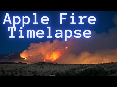 Apple Fire 2020 in 4K
