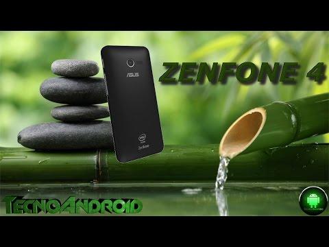 Asus Zenfone 4 primo contatto e accensione