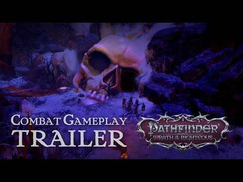 Pathfinder: Wrath of the Righteous   Combat Gameplay Trailer