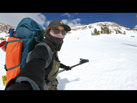 GoPro: Elena Hight Snowboards the Sierra Backcountry