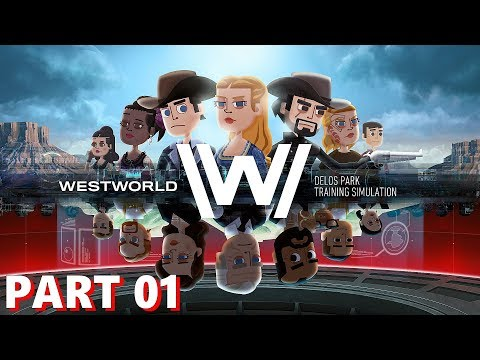 Westworld Game - Warner Bros - Part 1 Gameplay - iOS / Android