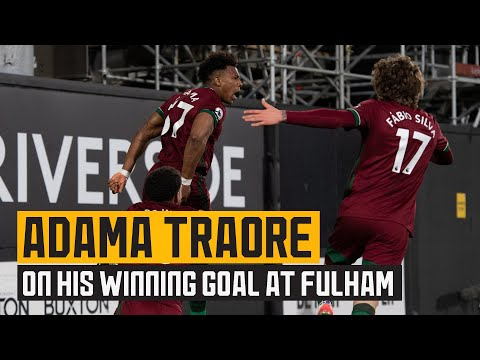 Traore on his last-gasp winner at Craven Cottage!