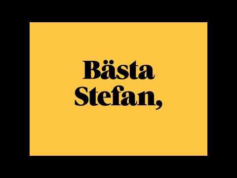 Öppet brev till Stefan Löfven