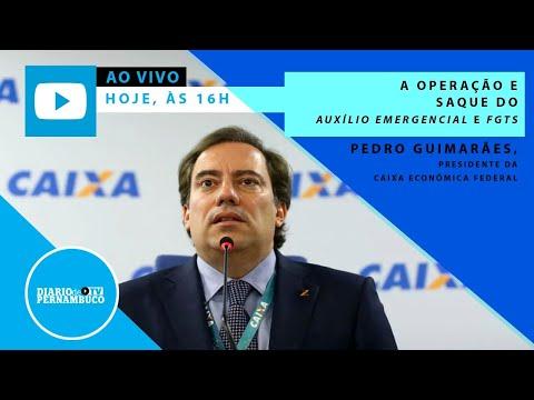 Ao vivo com Pedro Guimarães : Auxílio Emergencial e FGTS