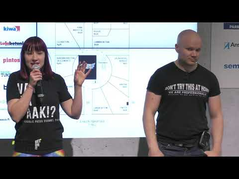 Hydraulic Press Channel & Kiwa Inspecta   Jouni Pesonen Kiwa Inspecta sekä Lauri ja Anni HPC