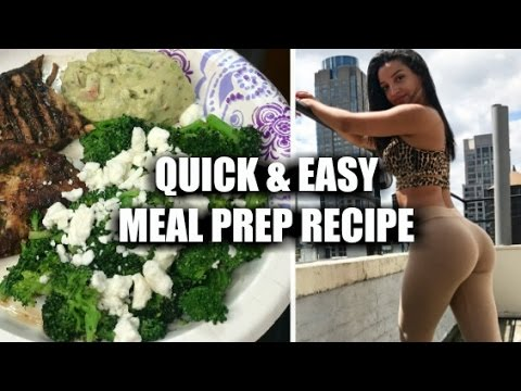 6 Min Meal Prep | Quick Easy Healthy Recipe | Meal Prep Series