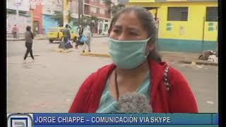 JORGE CHIAPPE - SE LEVANTO LA CUARENTENA EN PERU