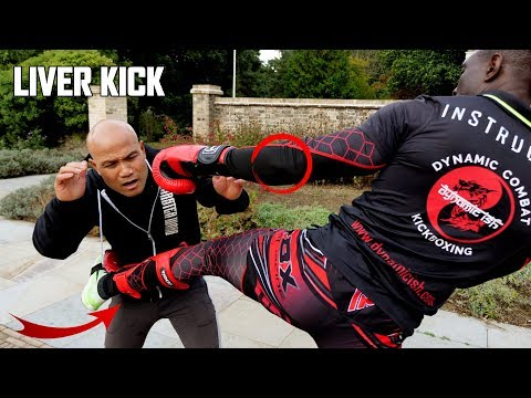 Liver Kick set up  | Kickboxing   Self defence New Series