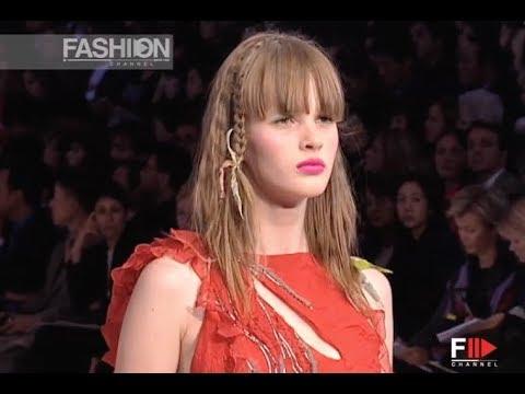 CHRISTIAN LACROIX Spring Summer 2002 Paris - Fashion Channel