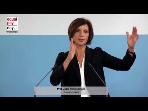 Prof. Jutta Allmendinger, Präsidentin des WZB  | 19.10.2016 im BMFSFJ, Berlin